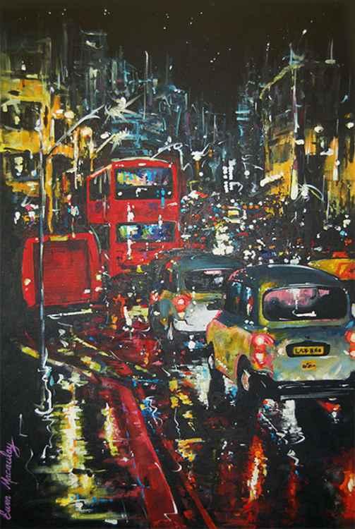 Rainy Night in London -
