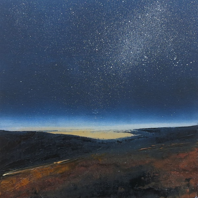 Starry Night over the Brecon Beacons (sold) - Image 0