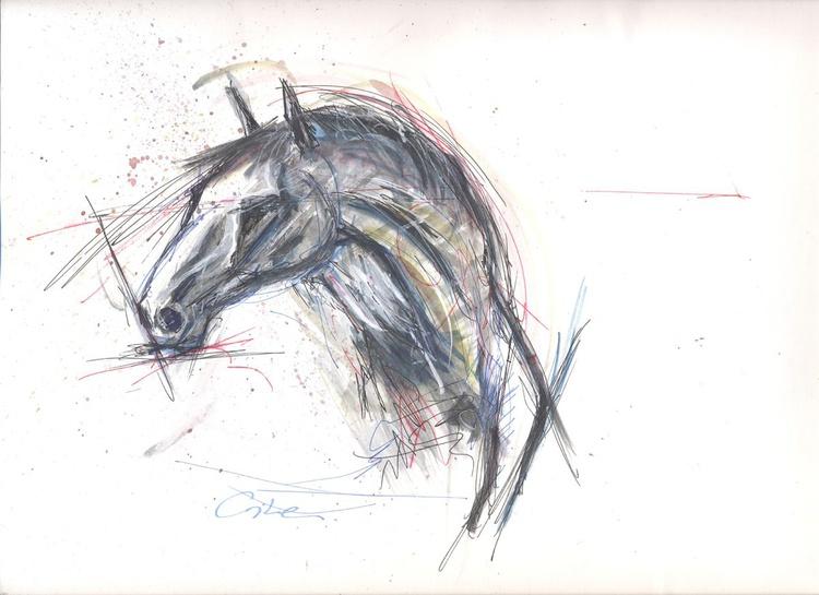 horse head 002 - Image 0
