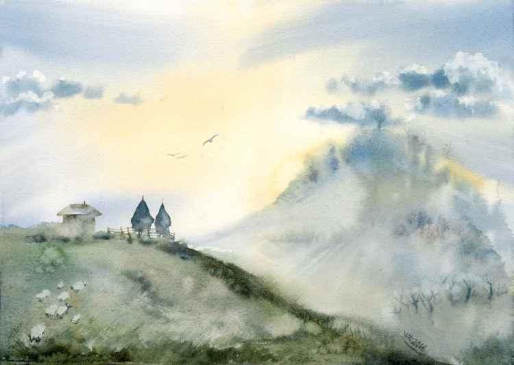 Romanian landscape -