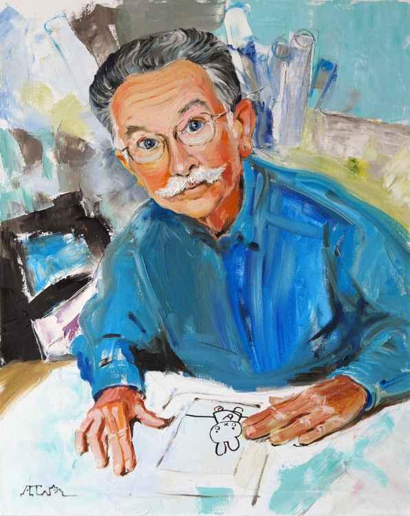 Portrait of Dick Bruna