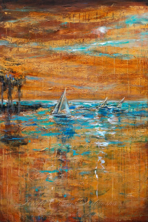 Sailing Late in the Day - Image 0