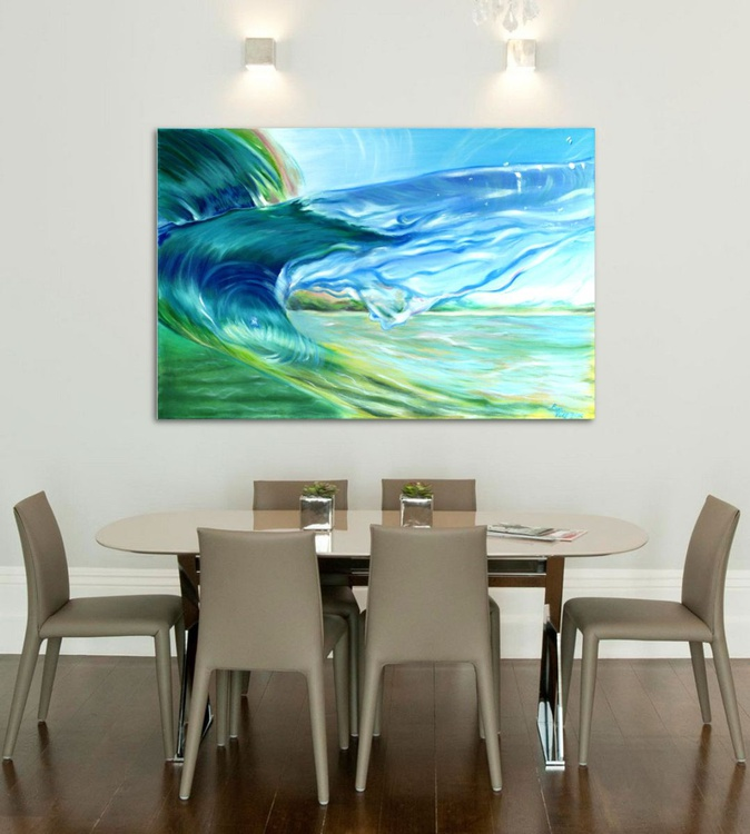 """The Breath of the Ocean VIII 24x36"""" - Image 0"""