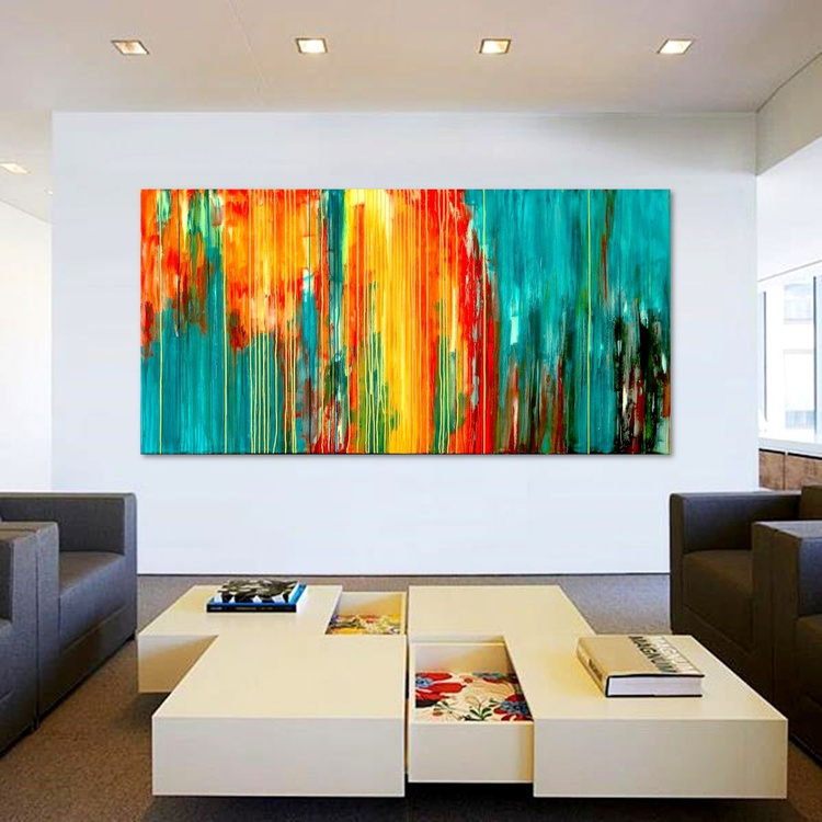 The Emotional Creation #109, 180 x 90 cm - 71 x 36 in - Image 0