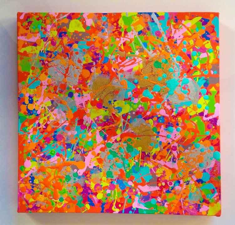 Abstract on orange 11 40/40/4 2015