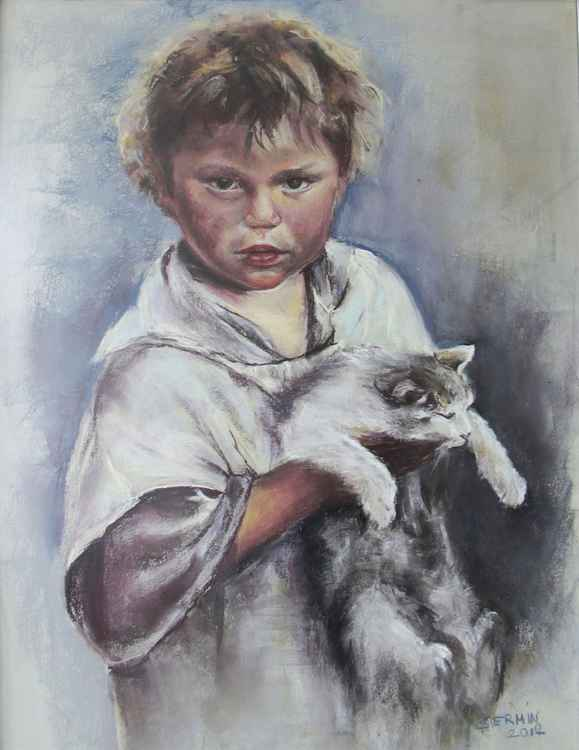 Kedili Çocuk -