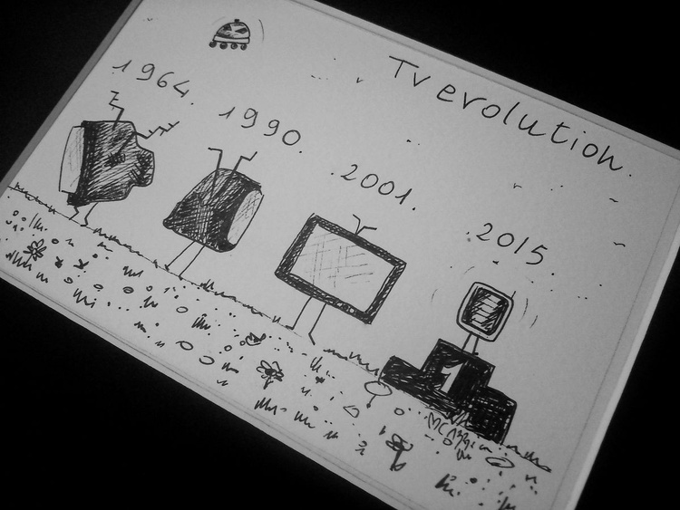 Tv Evolution drawing - Image 0