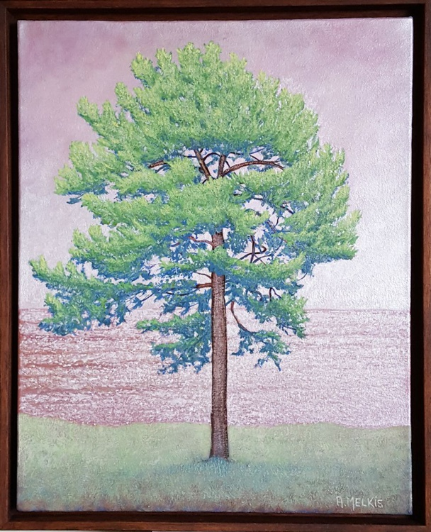 Pine on Pink - Image 0