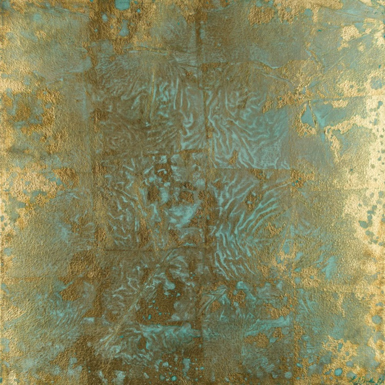 Gold Leaf with Jade - Image 0