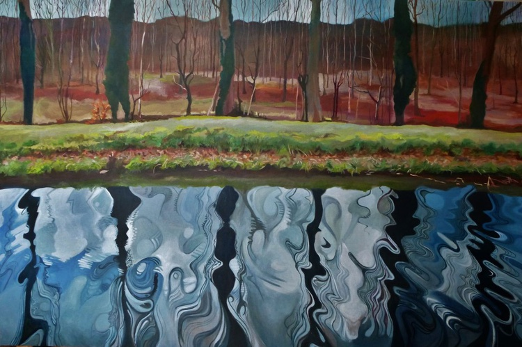 Anglesey Abbey, Canal Reflections - Image 0