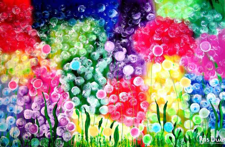 Fluffy flowers.