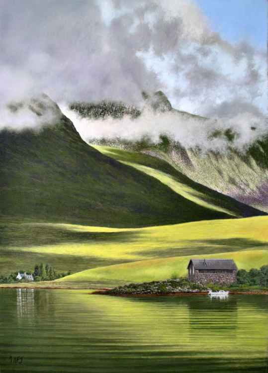 Achintrad Boathouse, Scotland -