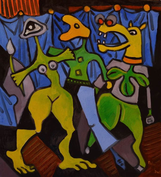 INSPIRED BY PICASSO-FRIENDS - Image 0
