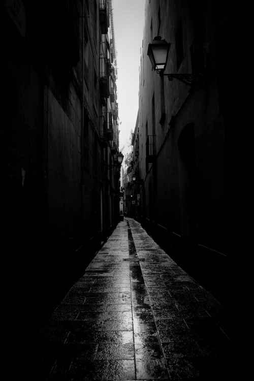 Narrow streets -