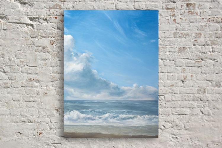 Original artwork Seaside, Baltic sea, Seascape, Sea and Sky - Image 0