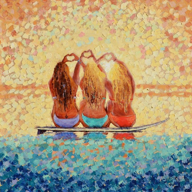 Sun Kissed Surf Sisters - Image 0