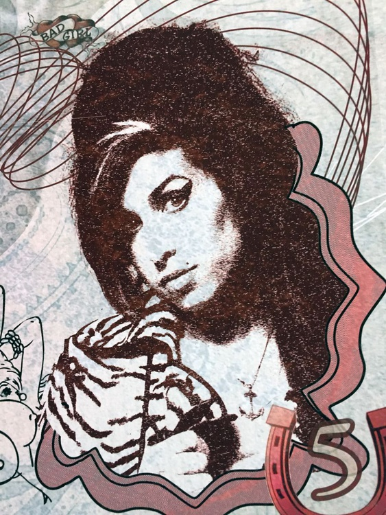 Five Rounds - Amy Winehouse (digital print) - Image 0