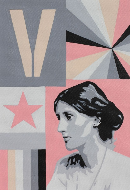 Woolf, a portrait of Virginia Woolf - Image 0