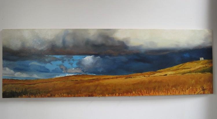 Golden hills and dark skys - Image 0