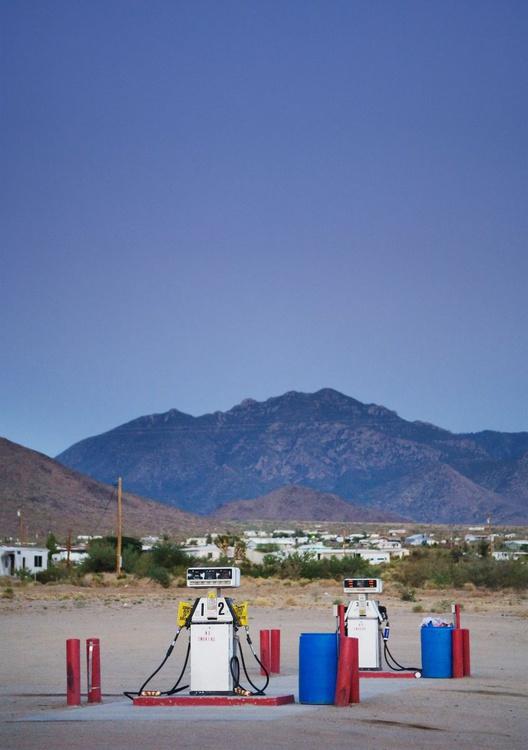 Dolan Springs, Arizona. (42x59cm) - Image 0