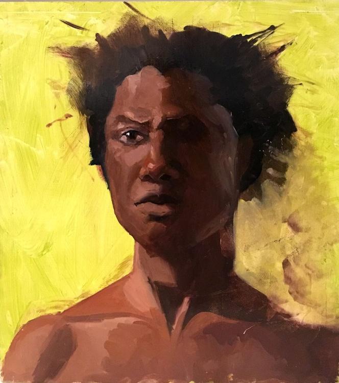 Male Model Portrait - Image 0