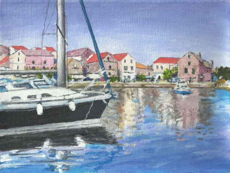 Dalmatian Port - Free Shipping -