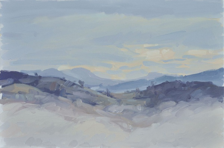 November 30, Roches de Mariol, morning mist - Image 0