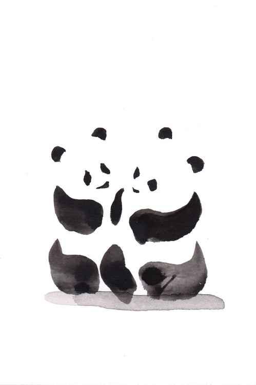 Two pandas 1015A