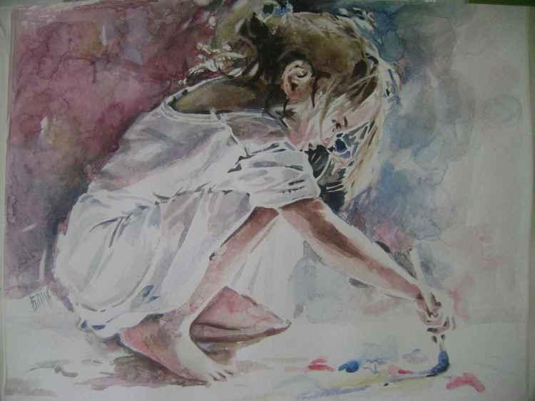 She draws - 2 -