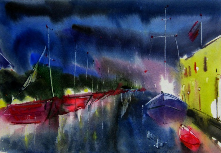 red boats - Image 0