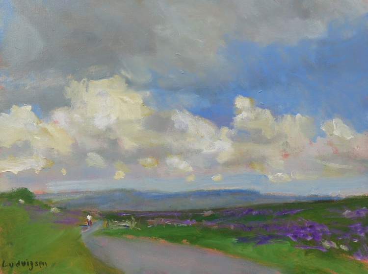 Heather Near Askrigg in the Yorkshire Moors Dales. - Image 0