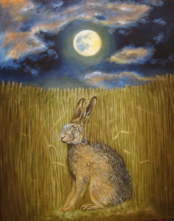 'The Hare in the Corn' - Image 0