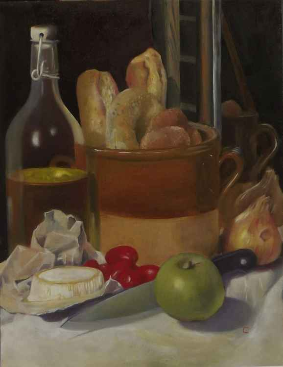 foodstuffs with still cider -