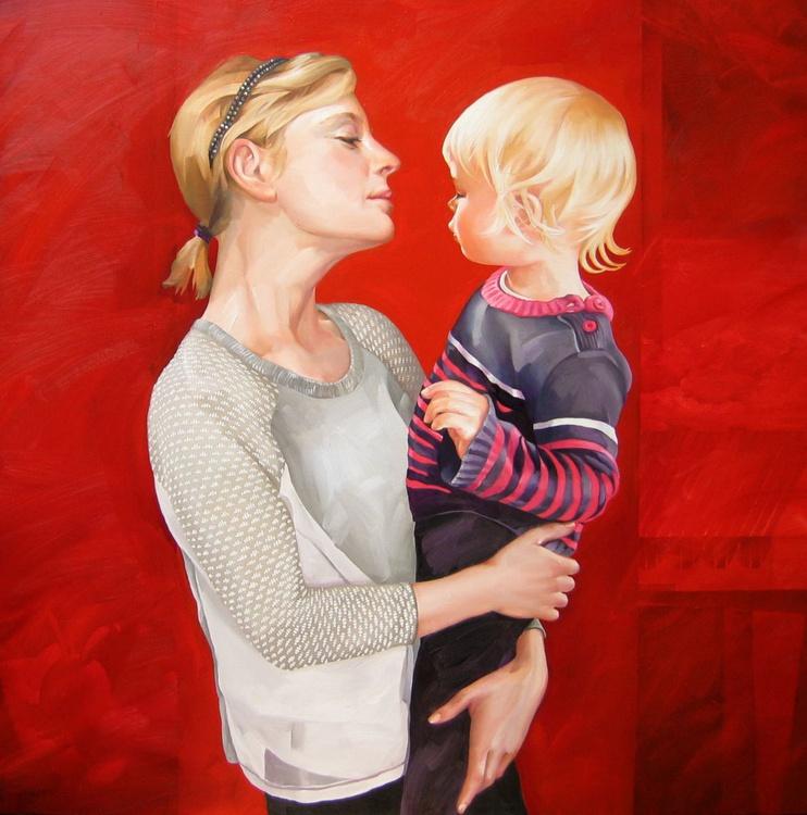 Madonna and Child: Modern Take - Image 0
