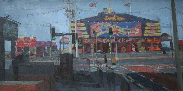 South Pier Entrance, Blackpool.