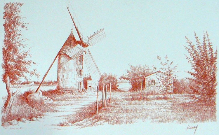 Mill western France - Image 0