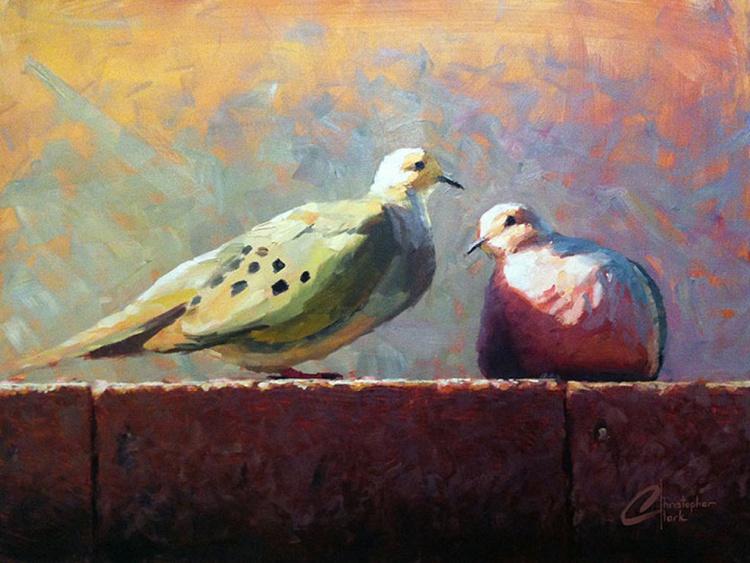 Doves in Love - Image 0