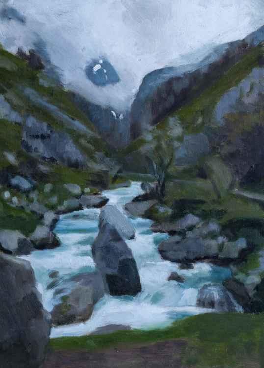 Valley in Picos de Europa -