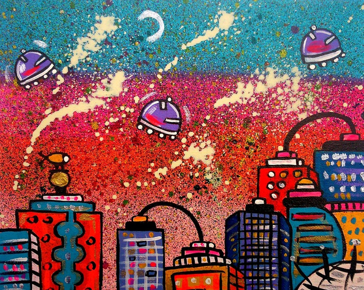 Bright Space City - Image 0