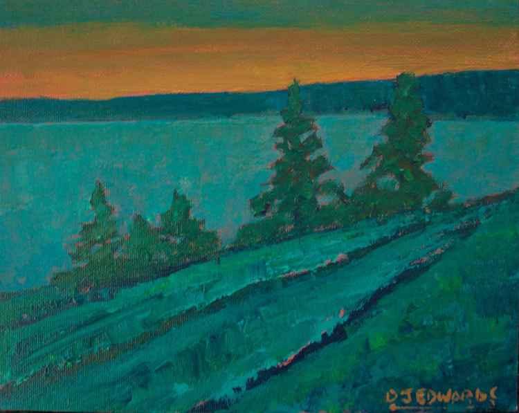 Evening Passage -