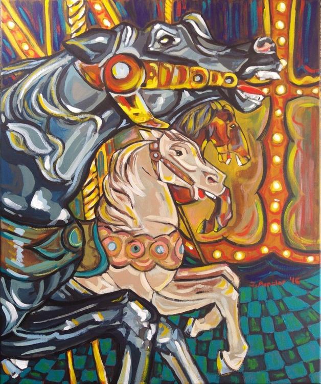 Carousel horses III - Image 0