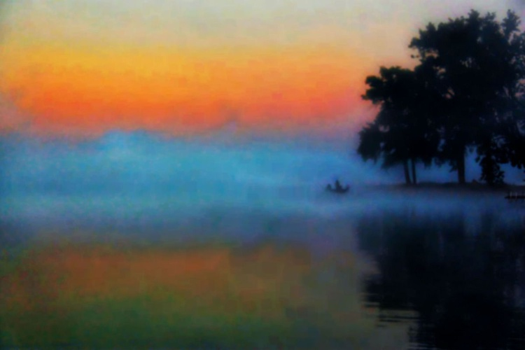 Fishing in the Mist - Image 0