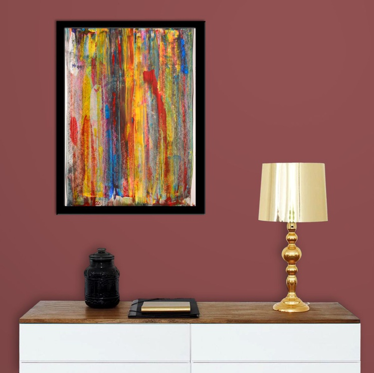 Friday Colors - Acrylic Abstract Art Painting - Image 0