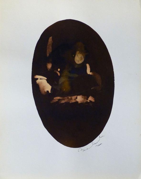 Oval variation #1, 32x40 cm - Image 0