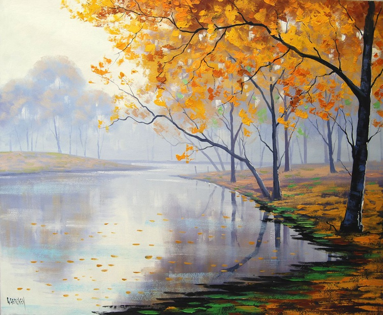 Golden Landscape - Image 0