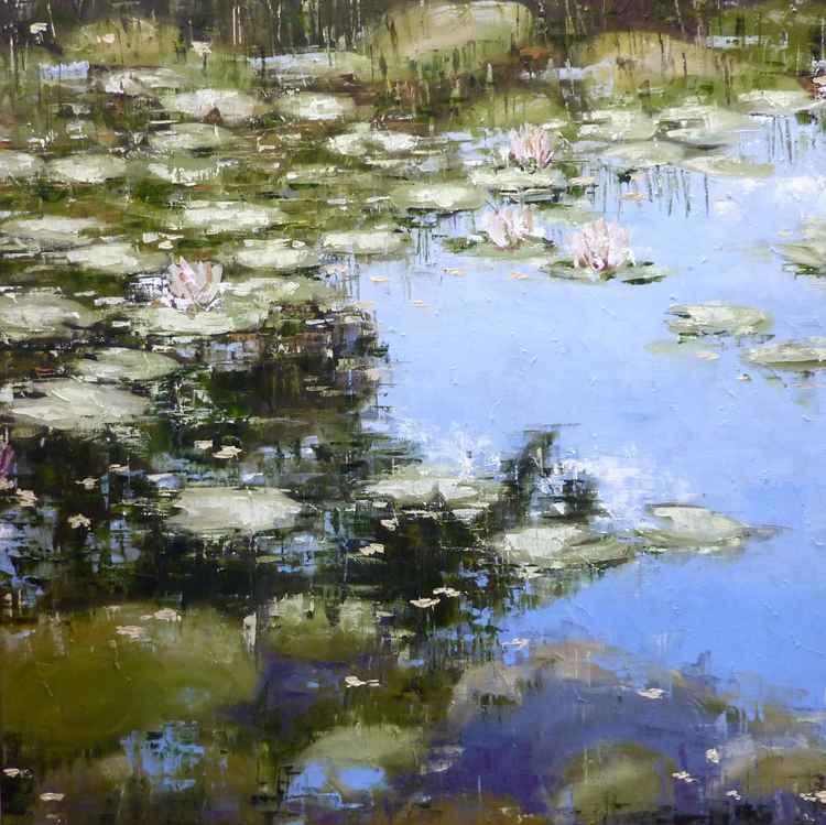 Bedgebury Lilies (Study) -