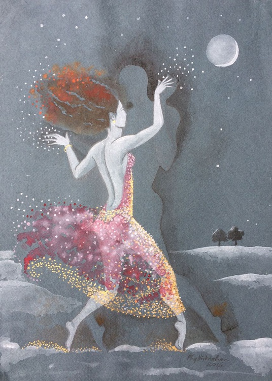 Shadow dance by starlight - Image 0