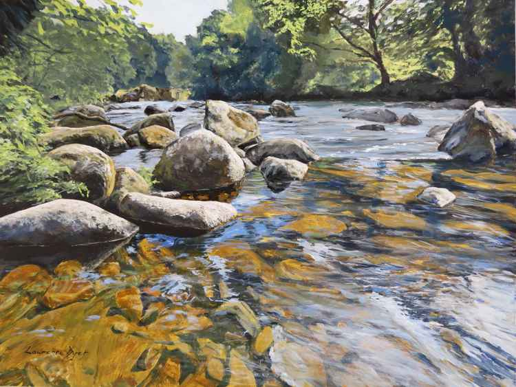 Granite Boulders, East Dart River -
