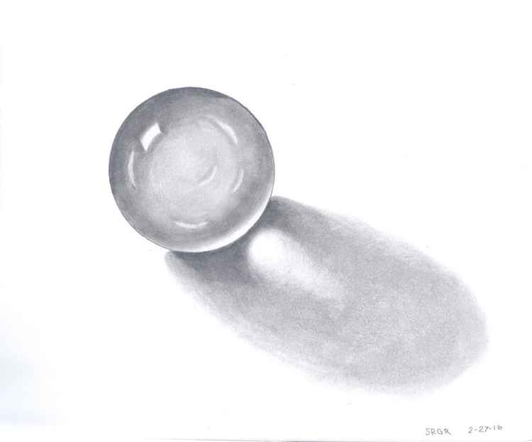 0005 Crystal Ball 05 Drawing -
