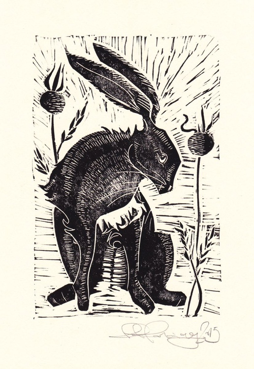 Hare with poppy seeds - Image 0
